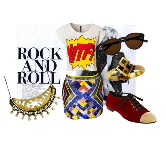 #Zoemou #dressmeup #dancingbrave #rockandroll #outfits #gold #attitude #fashion