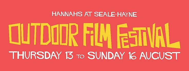 Hannahs | Outdoor Film Festival