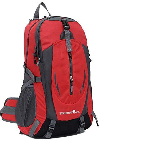 FTIIER 40L Large capacity backpack _ outdoor backpack leisure sports backpack camping on foot Hiking Travel Outdoors Hunting Fishing Camping backpack Red ** More info could be found at the image url.(This is an Amazon affiliate link and I receive a commission for the sales)