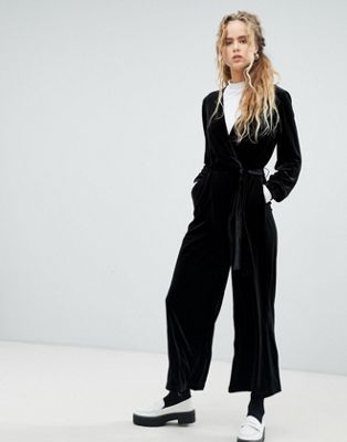 3031fb228e53 Dr Denim velvet jumpsuit in 2019