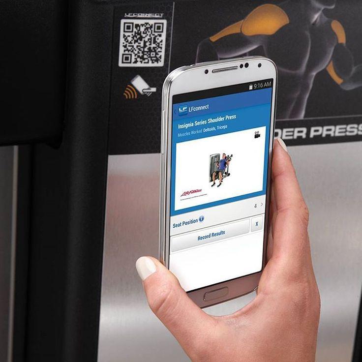 На тренажерах компании Life Fitness есть QR-коды, при сканировании которых специальным приложением LFconnect, вы получите всю необходимую информацию о тренажере и группе мышц, на которые он воздействует, а также найдете обучающее видео о правильной работе на тренажере.   #lifefitness #lfconnect #тренажеры #qrкоды