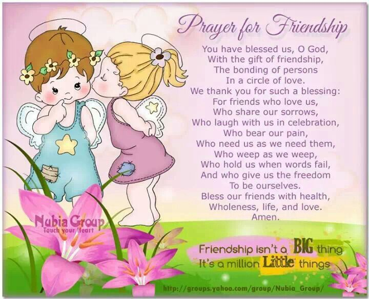 Friendship Prayers TO ALL MY FAMILY WHOM TURNED INTO