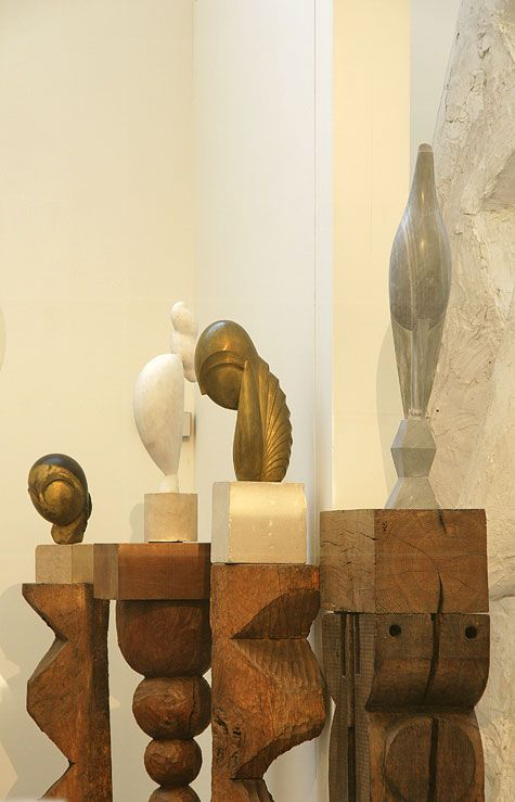 """""""They are imbeciles who call my work abstract. That which they call abstract is the most realistic, because what is real is not the exterior, but the idea, the essence of things."""" - Constantin Brancusi"""