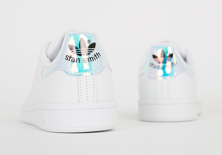 Sneakers femme - Adidas Stan Smith Iridescent Heel (©SneakerNews) >http://bit.ly/1srsDIR