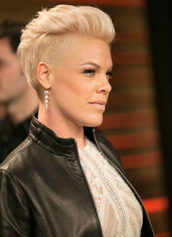P!nk at the Vanity Fair after party for the Oscars