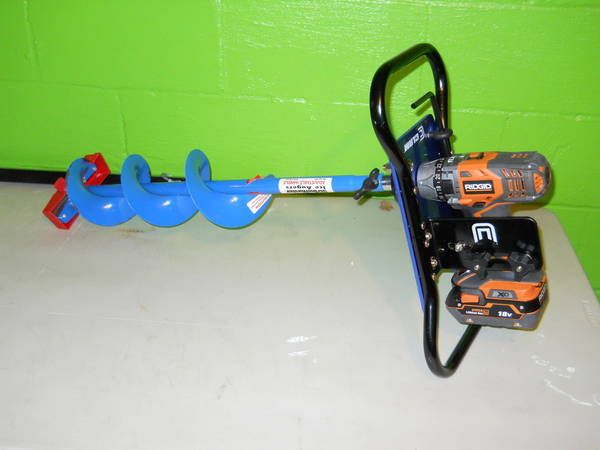 Clam Ice Auger/Cordless Drill Review