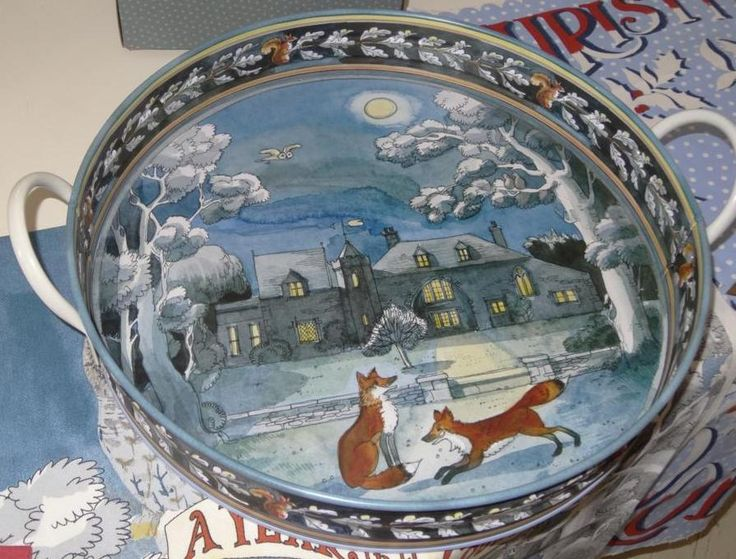 Emma Bridgewater tray by Matthew Rice - for winter 2013