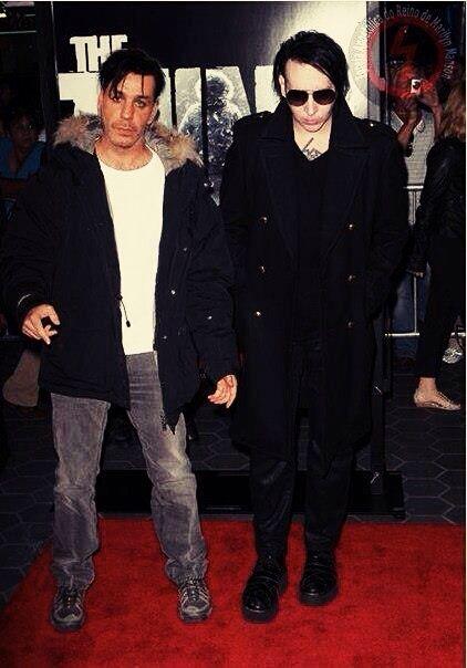 Till Lindemann & Marilyn Manson
