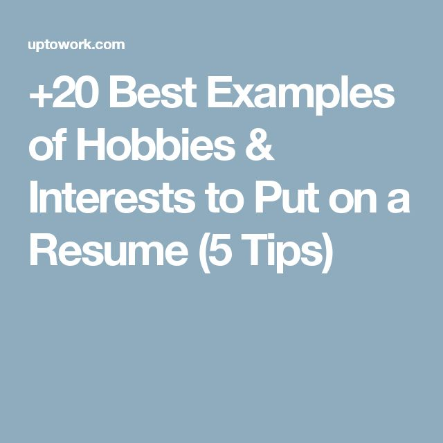 best 20  example of resume ideas on pinterest