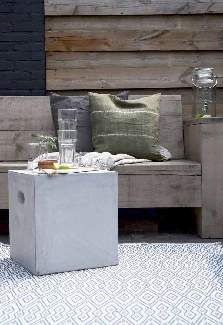 Woood Stone Bijzettafel   Blogreview FonQ.nl | @milouvhkndm. Outdoor  LifeOutdoor GardensOutdoor SpacesOutdoor LivingGarden ...