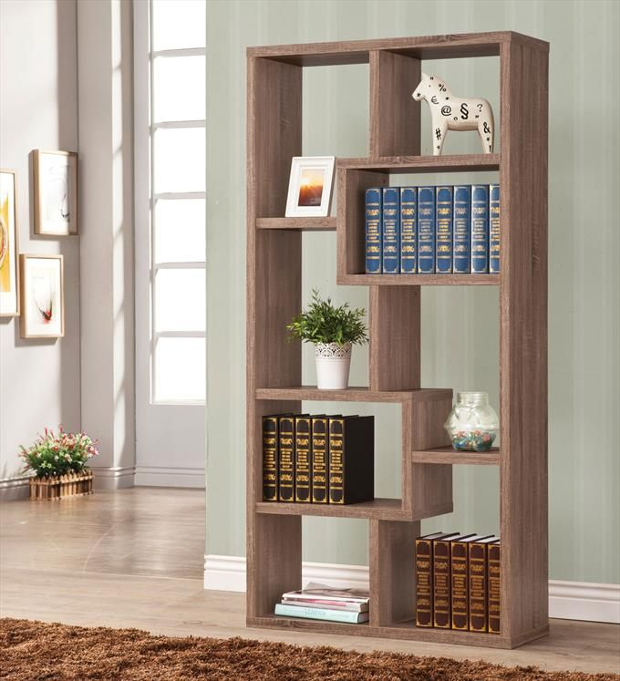 Coaster Company Transitional Wood Bookshelf