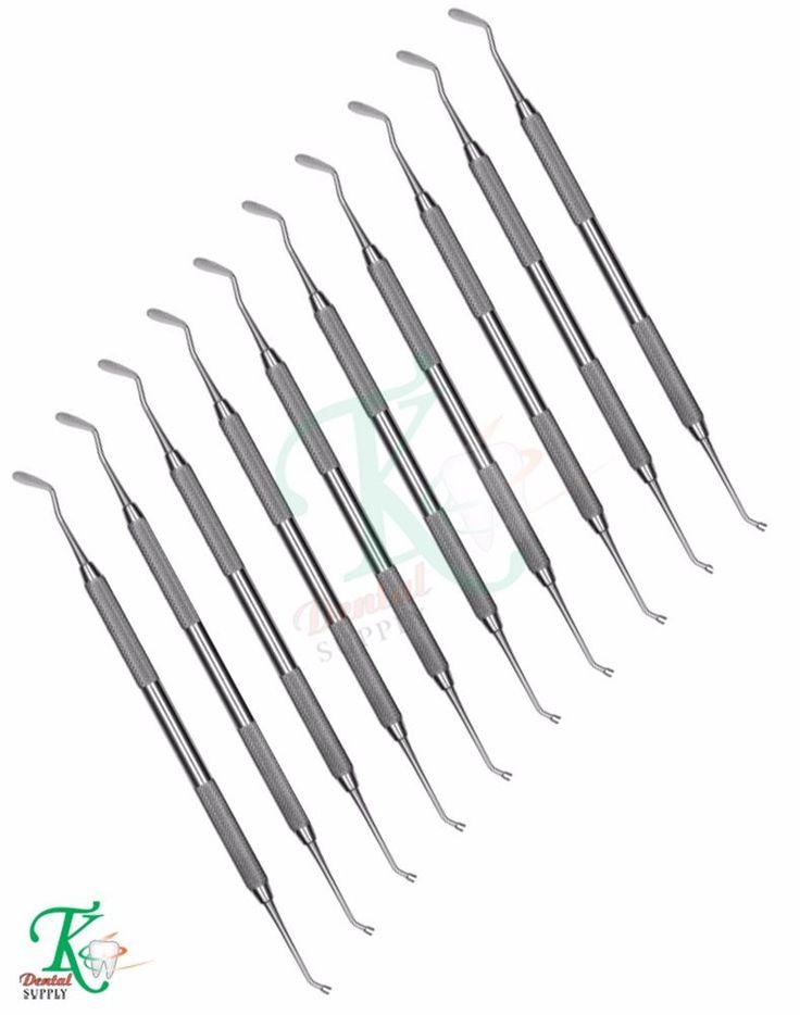 x 10 Woodson Composite Plastic Filling Instruments Restorative Dental Technician #tkplus
