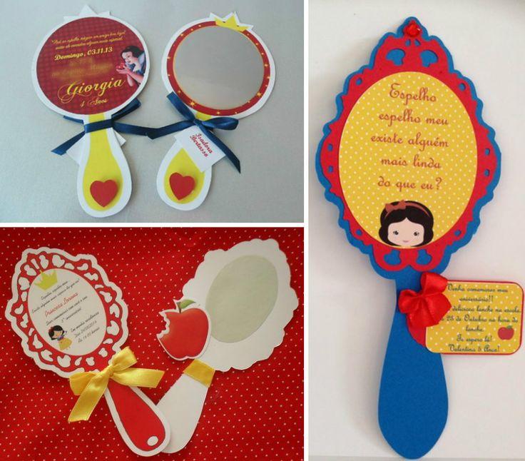 Um dos temas que mais gosto para festa de menina é Branca de Neve, uma história clássica que ainda atrai a atenção das crianças. A decoração da festa quase sempre usa a paleta de cores tradicional …