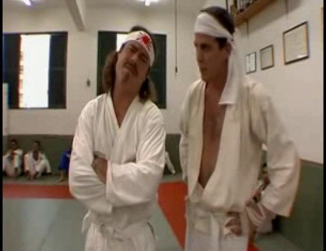 Jackass visits the Gracie Academy