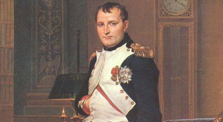 Co robił Napoleon o 4.13 nad ranem Portret Napoleona namalowany przez Jacquesa Louisa Davida