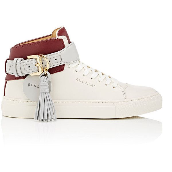 Leather 125MM CAGE High Top Sneakers Fall/winter Buscemi s5ftSpaEM