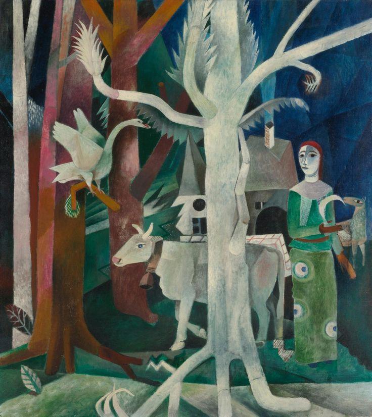 Heinrich Campendonk - Der wiesse baum (1925)