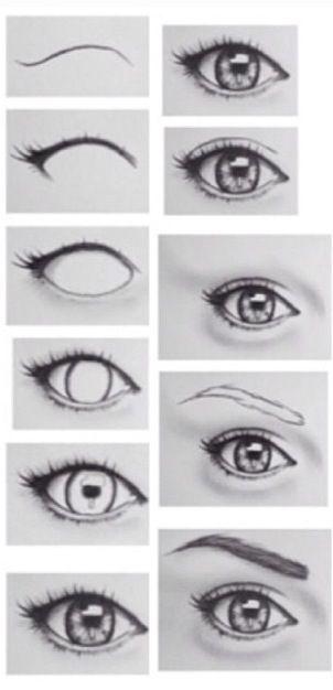 Occhi disegno