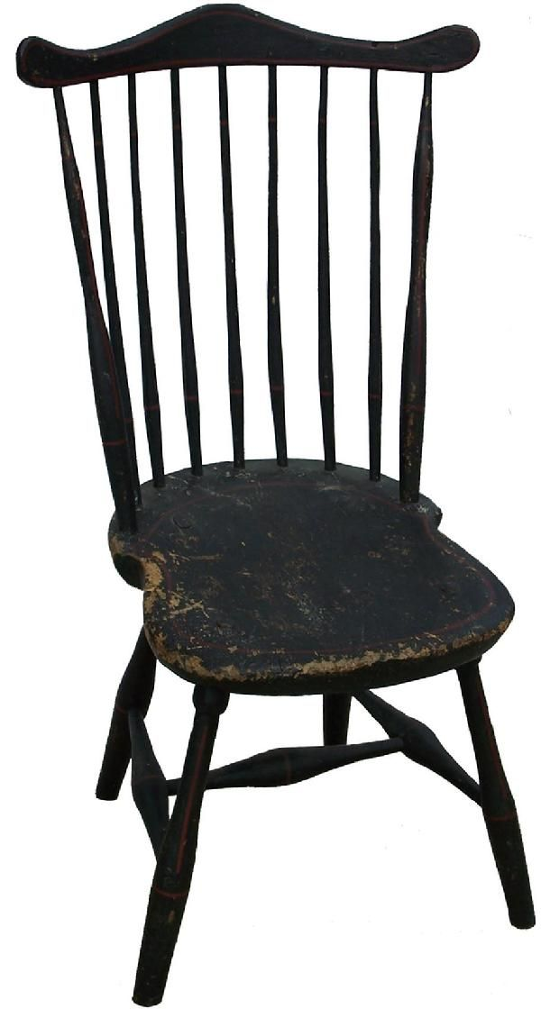 Early American Wooden Chairs Huge Deal On Blanket Ladder