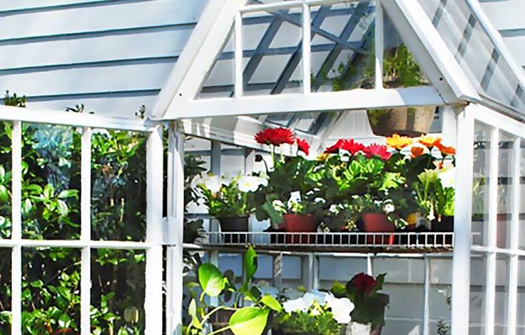 4 Greenhouses Made From Recycled Windows | This Old House