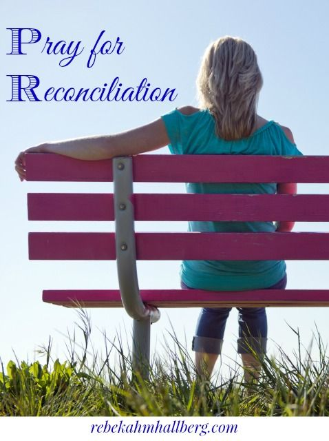 how to achieve reconciliation with wife