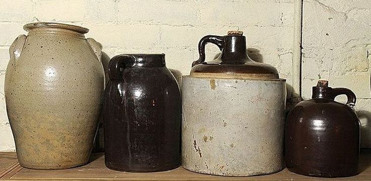 Stoneware Crock Jugs & Alcohol on the American Frontier ...
