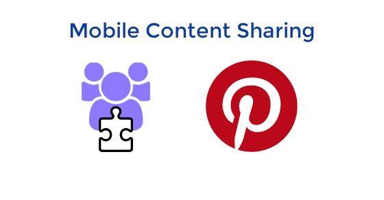 Joocial Composer App - Mobile sharing for Pinterest