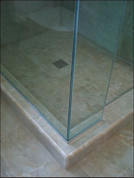 Clean Finish On Shower Doors