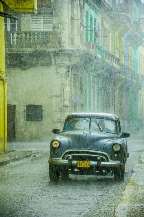 Rain in the Havana.