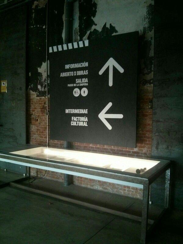 Señaletica Exposiciones Matadero