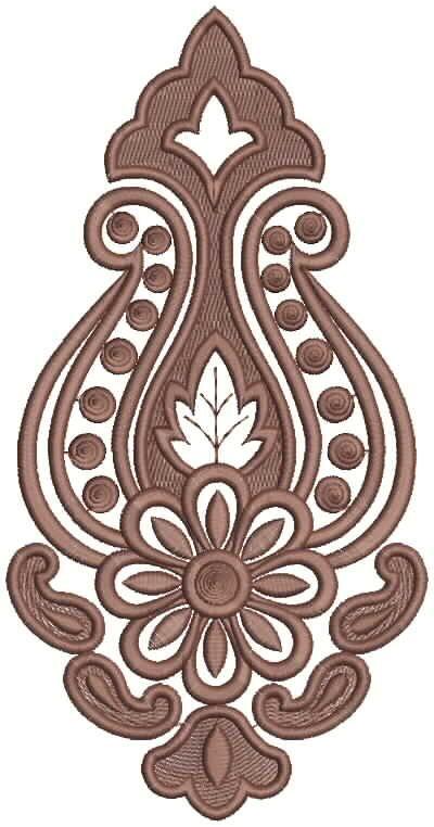 5378P Machine Embroidery Thread Applique Embroidery Design
