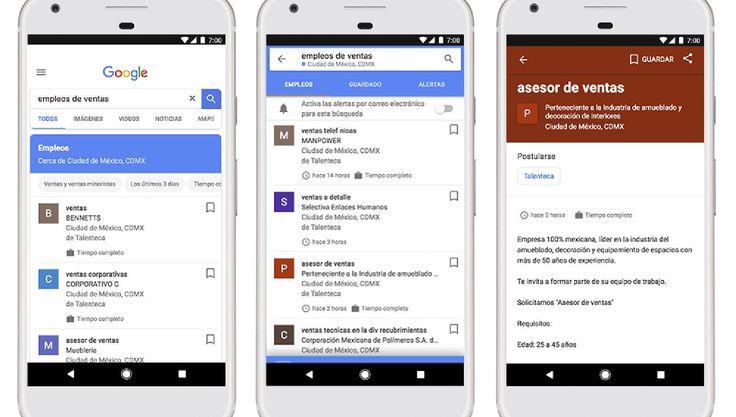 Así funciona Google Empleos, la herramienta que ya está disponible en Argentina https://www.lagaceta.com.ar/nota/759875/me-gusta/asi-funciona-google-empleos-herramienta-ya-esta-disponible-argentina.html