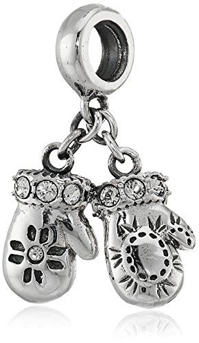 Chamilia Sterling Silver Mittens with Swarovski Crystal Bead Charm * READ MORE @ http://www.finejewelry4u.com/store/chamilia-sterling-silver-mittens-with-swarovski-crystal-bead-charm/?a=7660