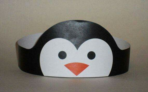 Animal paper hats craft