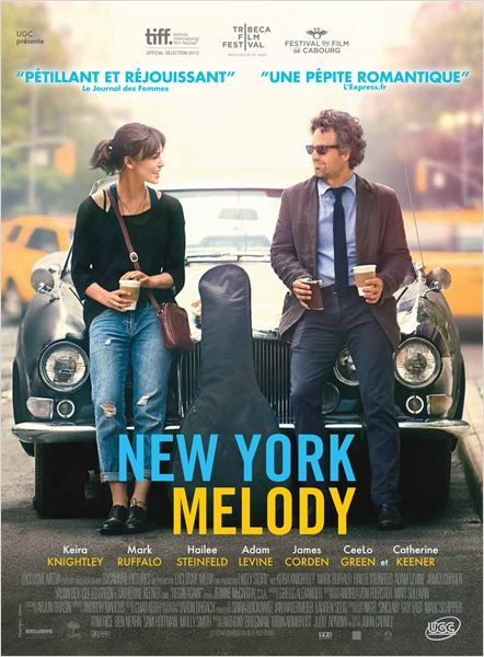 New York Melody ... (John Carney)...  avec Keira Knightley, Mark Ruffalo, Adam Levine, Catherine Keener...  + bande annonce