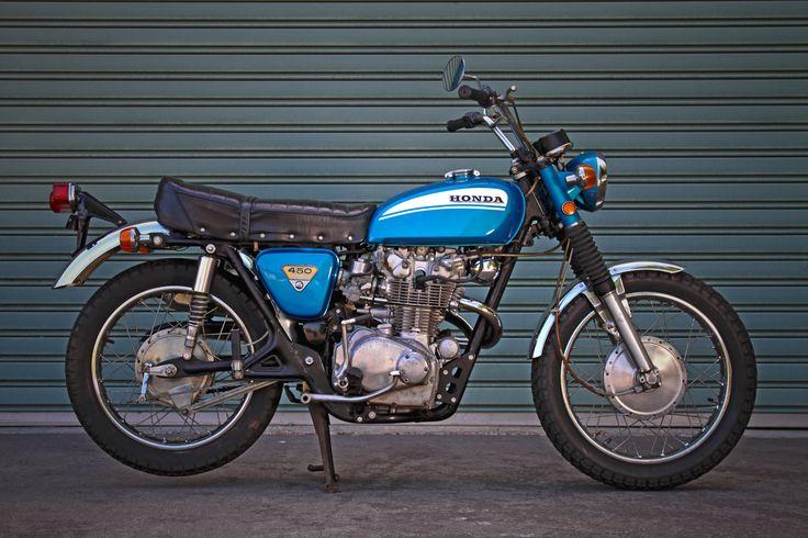 1970 Honda CL450 | antique motorcycles
