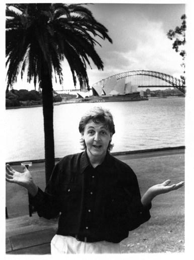 Paul McCartney in Sydney by Tony Mott