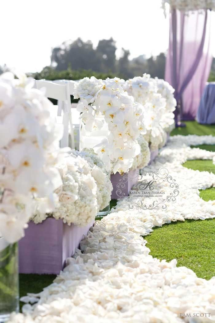 wedding aisle flowers 81 best florals san diego images on 8378