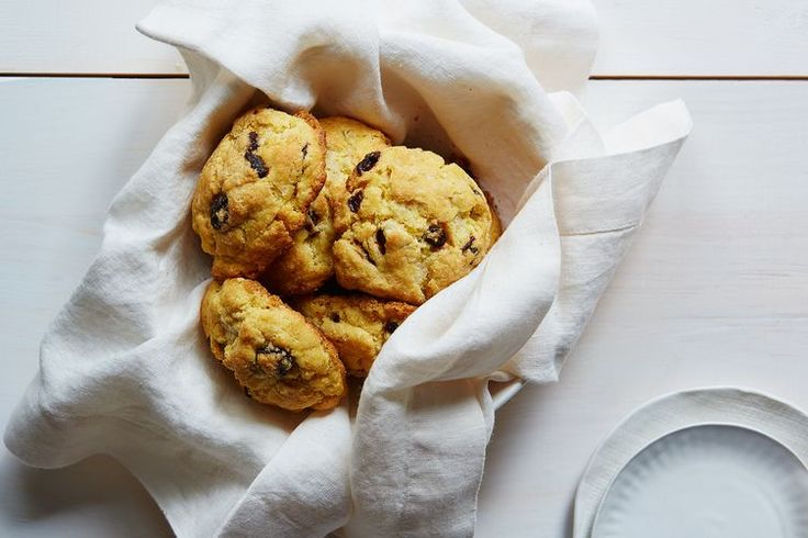 Cornmeal-Cherry Scones recipe on Food52