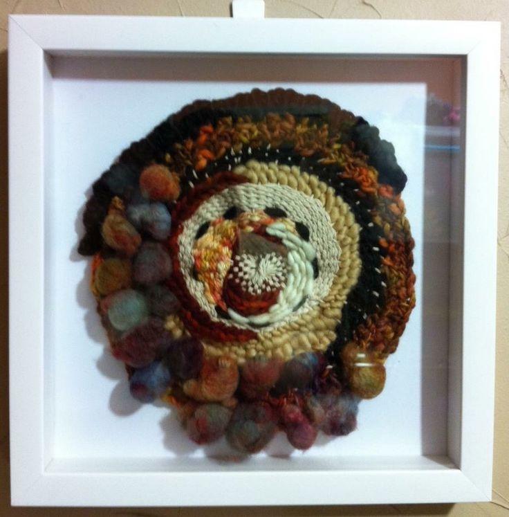 Texture in circle , by Viviana Valiente Círculos con textura