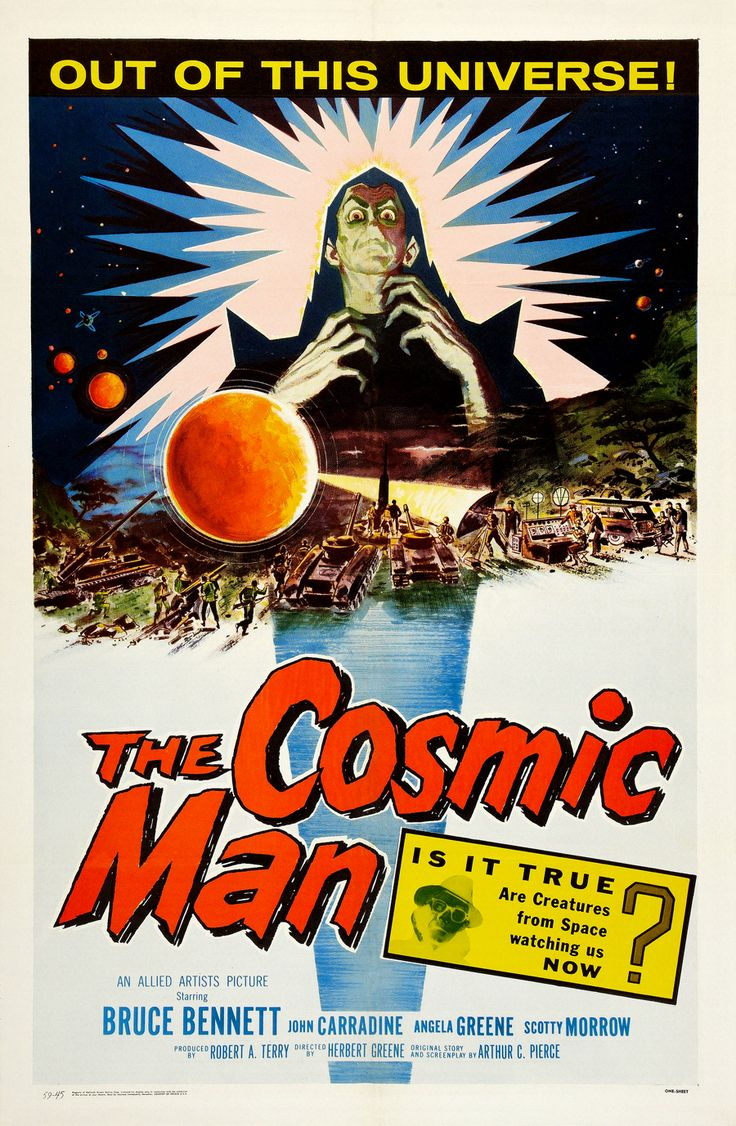 50s sci fi movie posters   50 GREATEST CLASSIC SCI-FI POSTER COUNTDOWN! TOP 10! This is it!