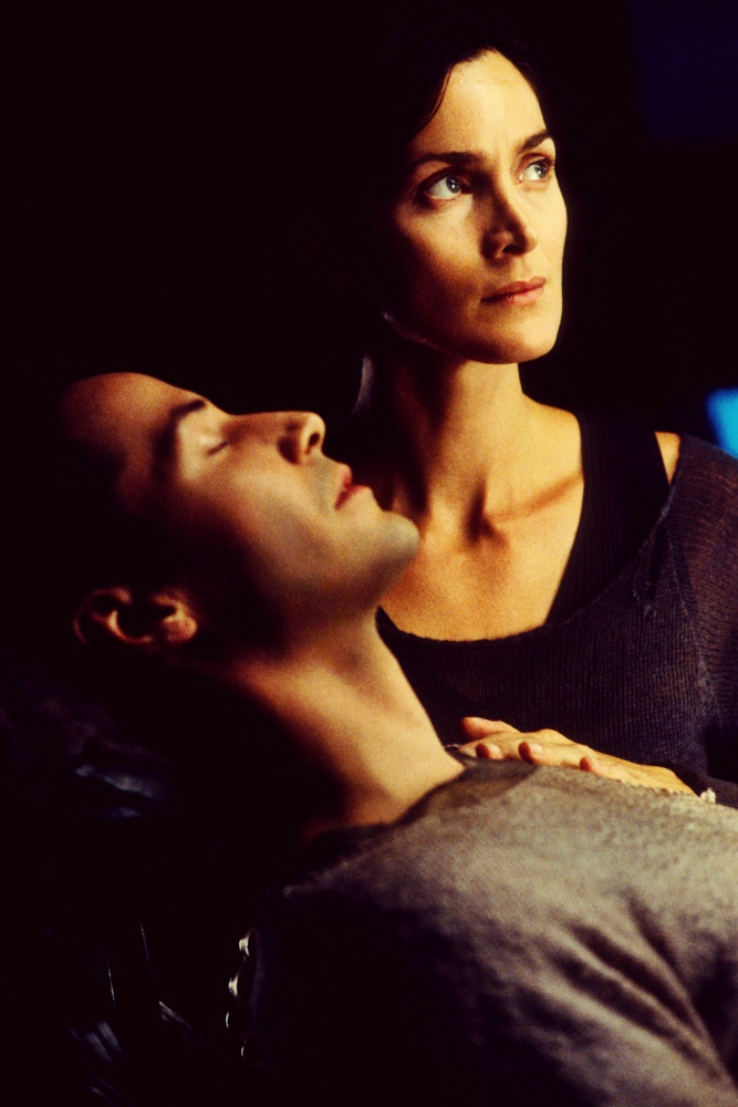 Keanu Reeves, Carrie-Anne Moss - The Matrix