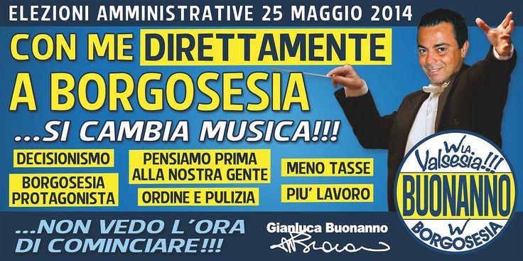 Elezioni Amministrative Borgosesia 2014