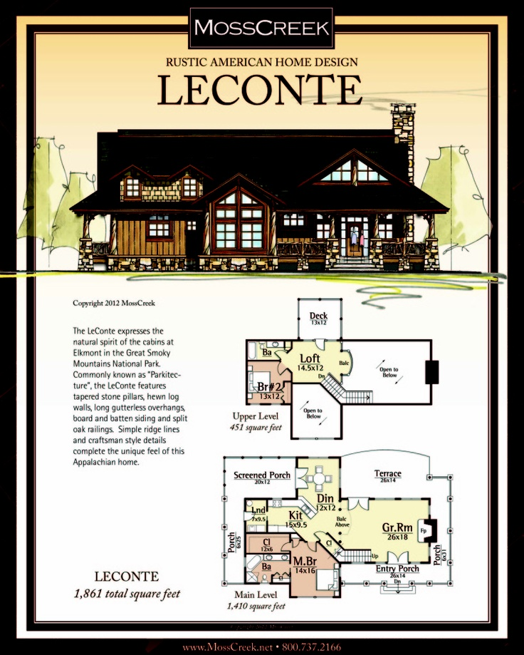 17 best images about rustic home log home and timber for Moss creek house plans