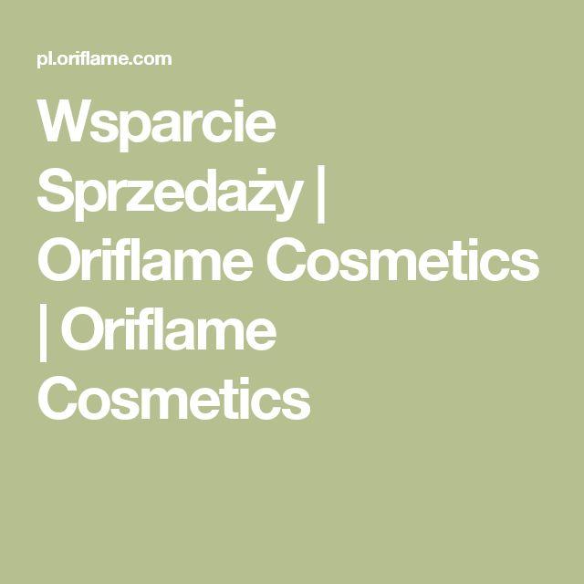 Wsparcie Sprzedaży | Oriflame Cosmetics | Oriflame Cosmetics