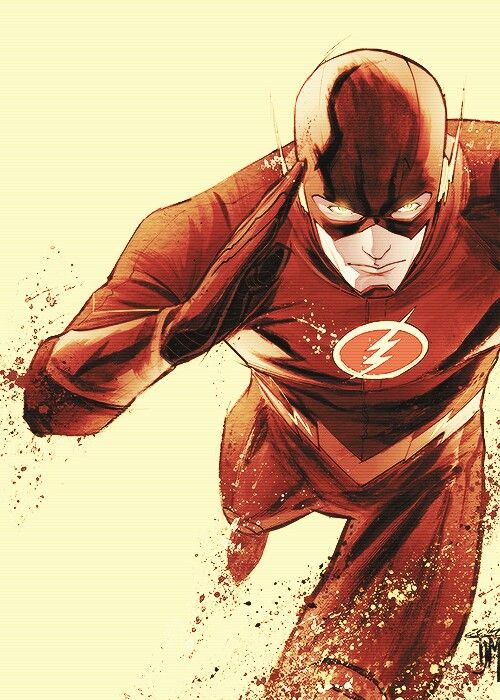 """""""Justice League"""": """"Flash"""" - """"aka Barry Allen, the fastest man in the world, a forensic at Central City"""""""