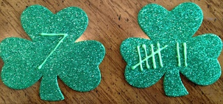 shamrock counting and tally mark mathTally Mark, Puffy Painting, Mark Math, Numbers W The, Teaching Activities, Math Tal, Teachers Stuff