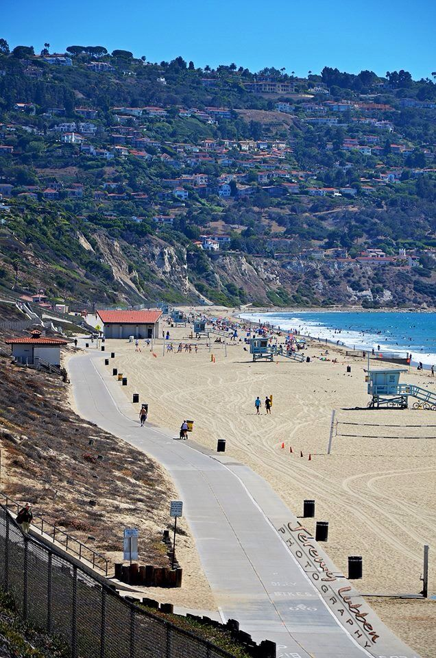 Torrance / Palos Verdes -the Strand, my favorite part of the beach!