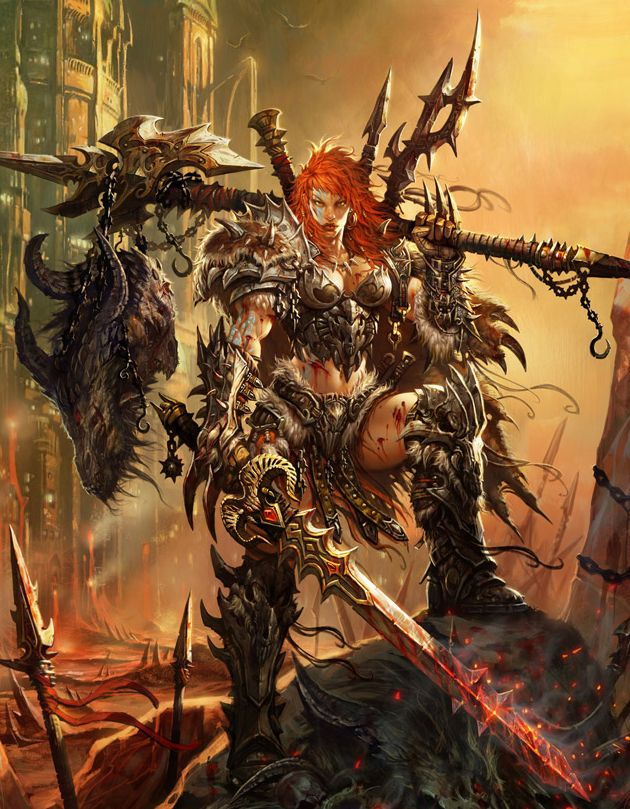 So, what project am I talking about again? My Barbarian from Diablo 3 ...