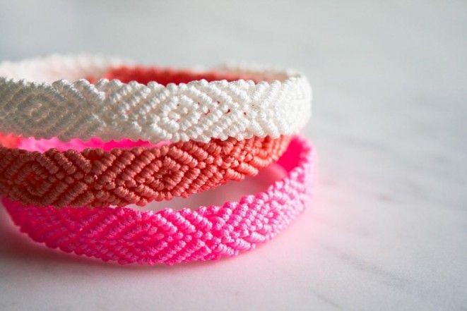 Monochrome Friendship Bracelets | Purl Soho - Create